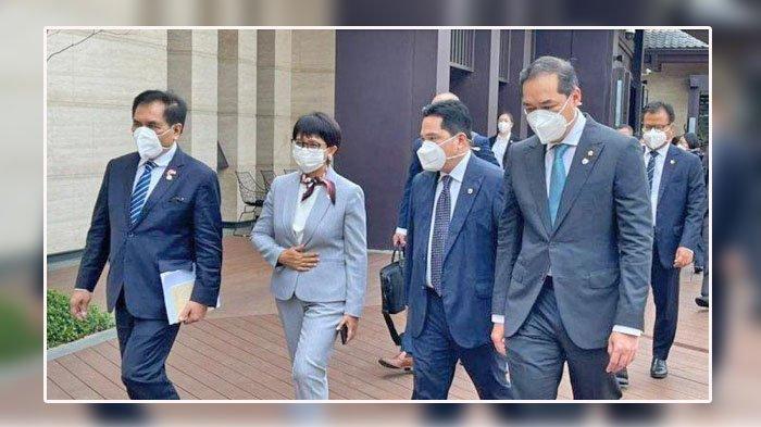 Terkait Vaksin Covid 19, 3 Menteri ke China, Retno Marsudi, Muhammad Lutfi dan Erick Thohir