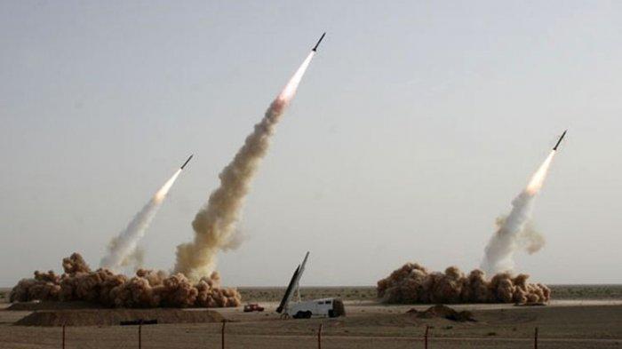 TERKINI, Iran Tembakan 8 Roket Hantam Pasukan AS di Pangkalan Udara Balad, 4 Prajurit Irak Terluka