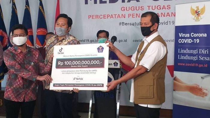 TikTok Telah Menunjukkan Contoh Nyata Penanganan Covid 19, Sumbang Uang Tunai Rp 100 miliar