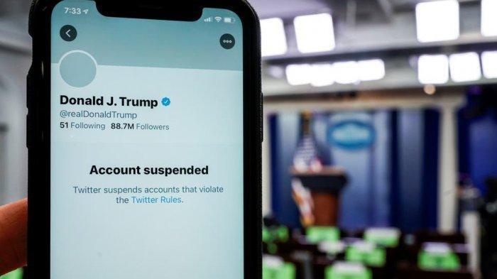 TikTok Ikut Blokir, Berikut 14 Media Sosial hingga Perusahaan Teknologi yang Suspend Donald Trump