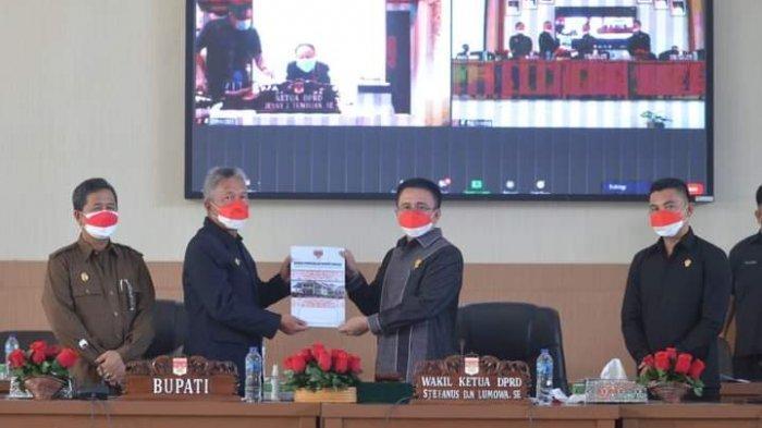 Pacu Ranperda APBD 2022, DPRD dan Pemkab Minsel Sepakati KUA-PPAS