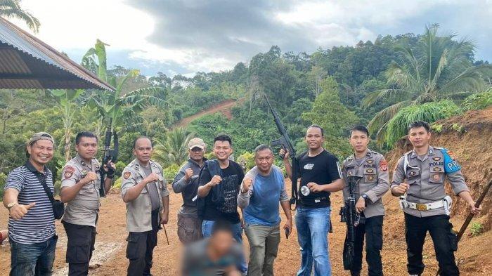 BREAKING NEWS, Polres Kotamabagu Tangkap IB, Pelaku Kasus 'Kekerasan' kepada Anak Kandungnya