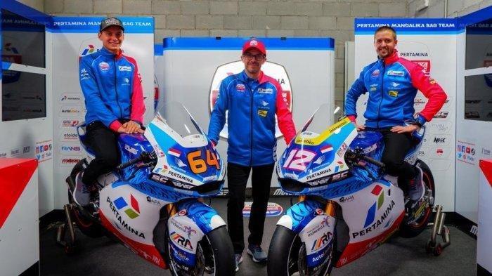 Tim BalapPertamina Mandalika SAG Resmi Meluncur, Bakal Berlaga di Kelas Moto2