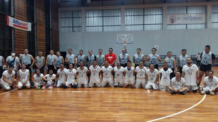 Reuni Pemain Basket Veteran Asal Sulut dan Gorontalo di Lapangan FRBA