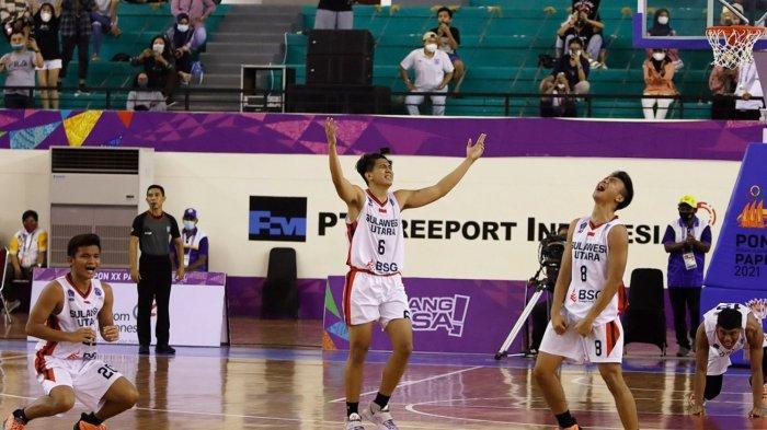 Jelang Final, Tim Basket Putra Sulut Tak Gentar Nama Besar DKI Jakarta