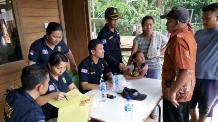Tim DVI Biddokkes Polda Sulut Kerahkan Personel Bantu Bencana Longsor Tambang Bakan