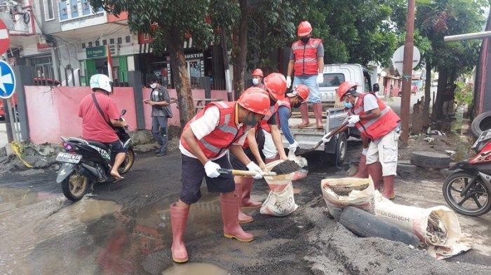 Saluran Utama Bermasalah, Hubungi Tim Helm Merah Dinas PUPR Kota Bitung