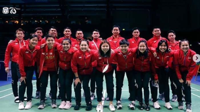 Indonesia VS Malaysia Hari Ini Jumat 1 Oktober 2021 di Pertandingan Bulutangkis Piala Sudirman