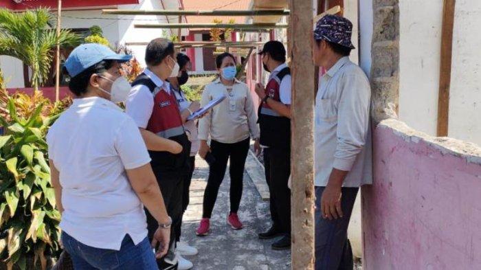 Sidak Pembangunan Fisik Sejumlah Sekolah, Inspektorat Mitra Beri Catatan