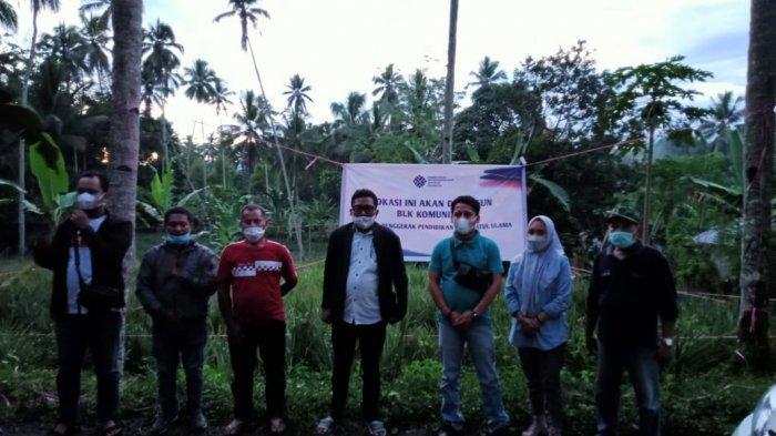 Bangun BLK di Desa Bulud di Bolmong, Kemenakertrans Kucurkan Dana Rp 1 Miliar