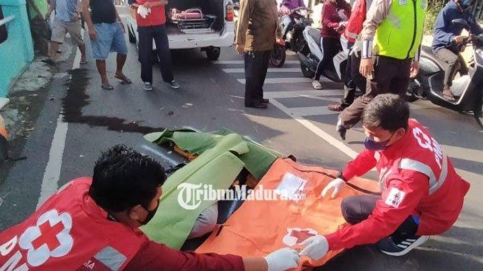 Kecelakaan Maut Tadi Pukul 06.30 WIB, Pemotor Beat Street Tewas, Hendak Nyalip Lalu Terlindas Astrea