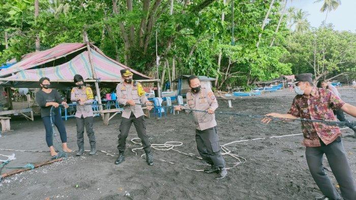 Kelurahan Kasawari Menuju Kampung Tangguh Nusantara, Warga Gotong Royong Tarik Soma Dampar