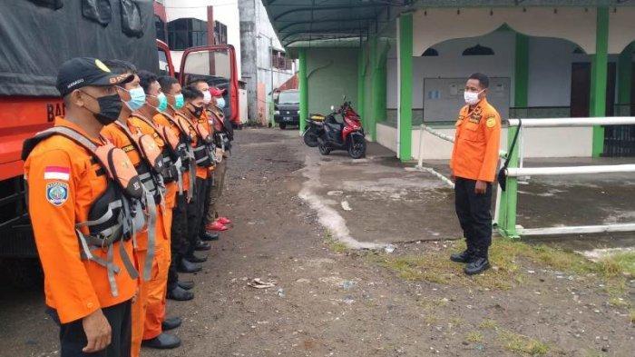 Tim SAR Gabungan melakukan pencarian terhadap Agli Tambengi, korban hanyut di DAS Tondano sejak Minggu (30/05/2021) sore.