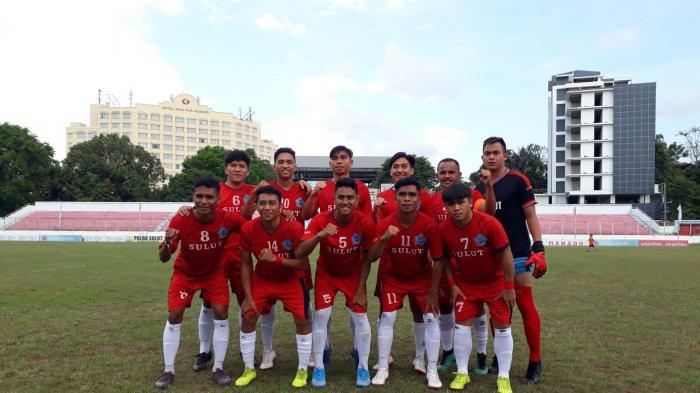 Tim Sepak Bola Sulut Lolos Ke PON Papua 2020, Kalahkan Sulteng