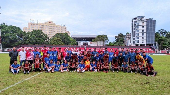 Tim Sepakbola Sulut Bersua Aceh di Laga Perdana Grup C PON XX Papua