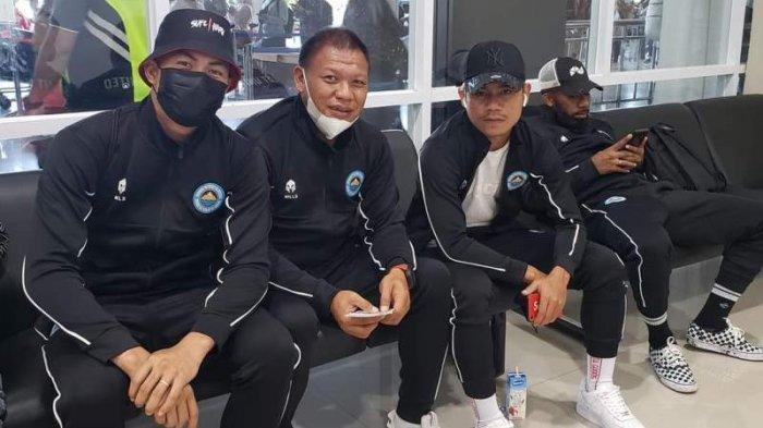 Tim Sulut United bertolak ke Jogjakarta untuk menjalani training camp, Kamis (17/06/2021).