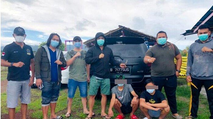 Tim Tarantula Polres Minahasa Bekuk 2 Pelaku Penikaman di Tataaran Satu