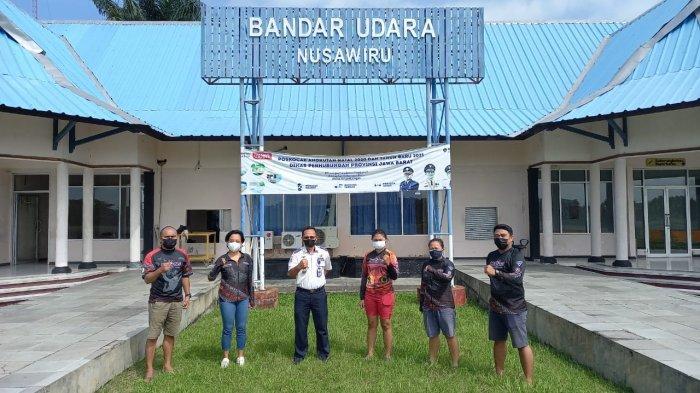 Jelang PON Papua, Tim Terjun Payung Sulut Berlatih di Pangandaran