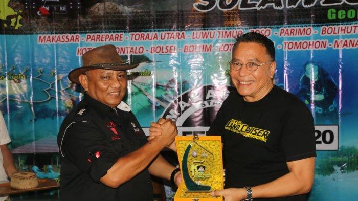 Tim Touring Jelajah Wisata Nusantara Sulawesi Finish di Kota Tomohon