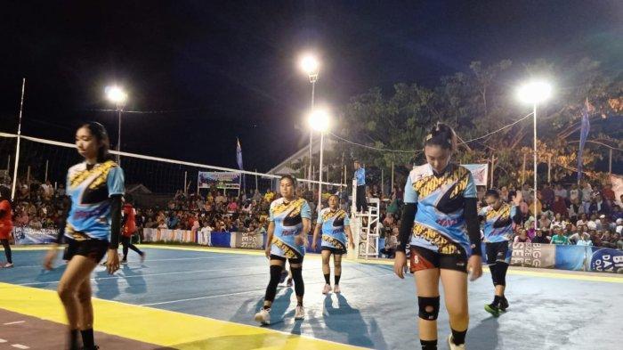 Tim Voli Putri Tolandadu Raih Juara 2 Open Tournament Bone Cup
