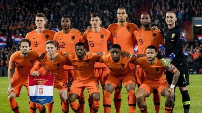 DAFTAR Pemain Timnas Belanda di Euro 2020, Ada Matthijs de Ligt hingga FrenkiedeJong