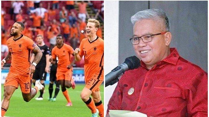 Prediksi Wabup Bolmut Amin Lasena Tepat, Tim Oranye Belanda Menang Lawan Austria di Euro 2020