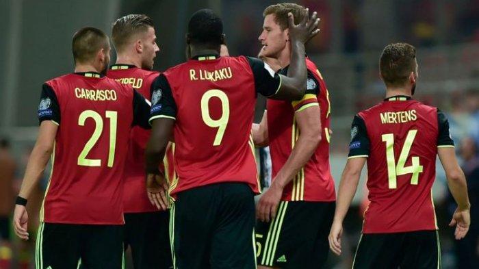 Hasil Kualifikasi Piala Dunia 2022, Belgia vs Belarus, Setan Merah 'Mengamuk' dengan 8 Gol