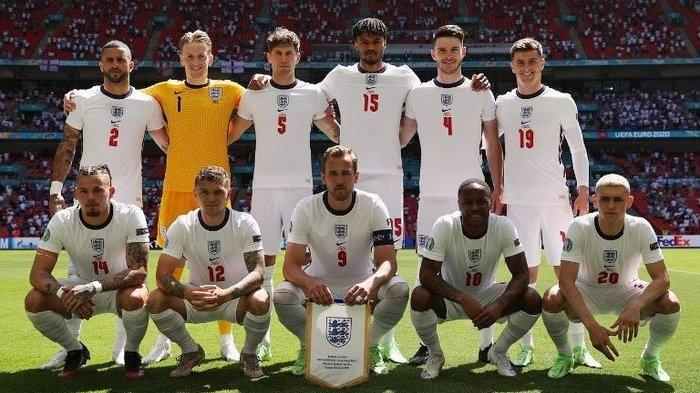 SEDANG BERLANGSUNG Live Streaming Inggris vs Andorra, Tim Tiga Singa Superior
