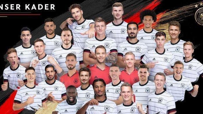 DAFTAR Pemain Timnas Jerman di Euro 2020, Dua Pemain Chelsea Jadi Penyerang Der Panzer