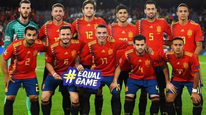 DAFTAR Pemain Timnas Spanyol untuk Euro 2020, La Furia Roja Tanggalkan Nomor Punggung 15, Ada Apa?