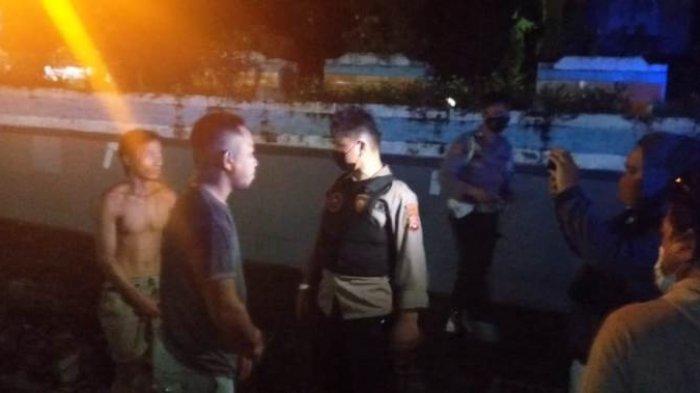 Timsus Anoa Bubarkan Pesta Miras di Taman Kotamobagu, Sejumlah Pemuda Diberi Hukuman Fisik