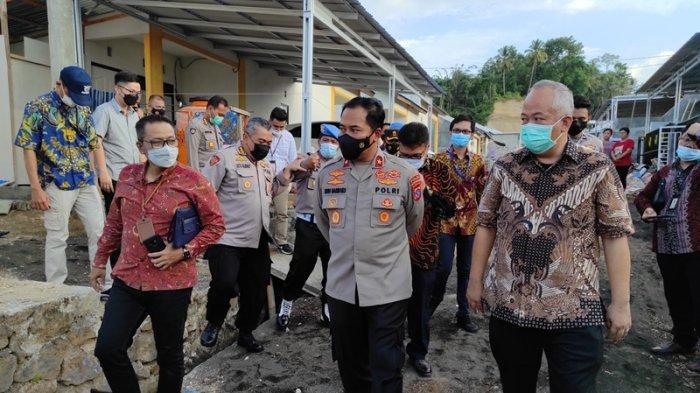 Polda Sulut Launching 100 Ribu Rumah Bagi PNPP, Wakapolda Minta Developer Perhatikan Kualitas
