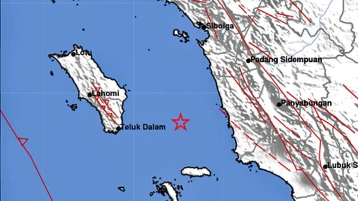 Gempa Terkini Sore Ini Rabu 1 September 2021, Info BMKG Berikut Kekuatan dan Titik Pusat Gempa