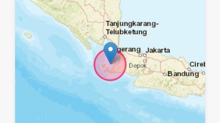 13 Kali Gempa Guncang Pandeglang-Banten Hari Ini, Untungnya Bukan di Zona Megatrush