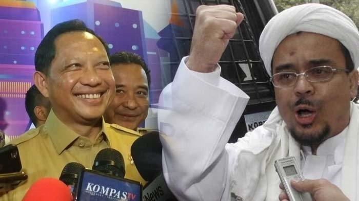 FPI Punya VisiNKRI Bersyariah, Tito Karnavian Belum Keluarkan Izin,Mahfud:Tak Bisa Dikeluarkan