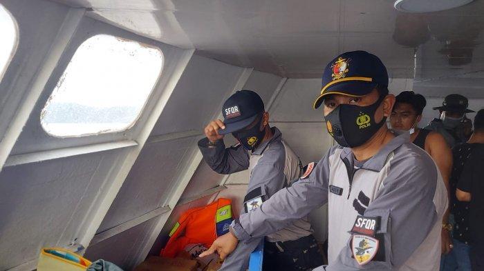TNI AL (Lanal) Melonguane berhasil mengamankan minuman keras (Miras) ilegal dari dua Kapal Penumpang yang berlayar dari Pelabuhan Manado tujuan Talaud. Sabtu (1/5/2021).