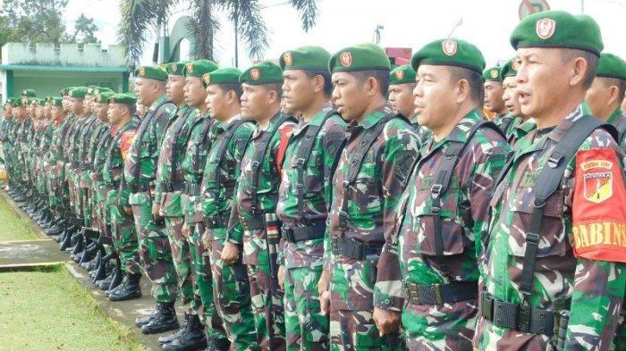 TNI Minahasa Persiapkan Anggota Hadapi Bencana