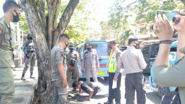TNI, Polri Bersama Satpol PP Tertibkan Masyarakat Tidak Pakai Masker