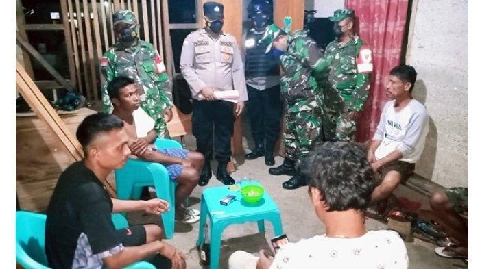 Operasi Yustisi di Pulau Terluar, TNI Polri Ingatkan Warga Taat Prokes