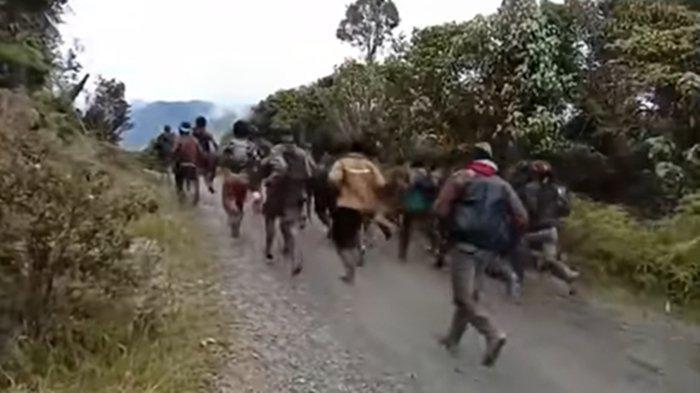 KKB Pimpinan Teri Mayu Teror Masyarakat di Ilaga, Keteteran Kabur saat Dikejar Aparat