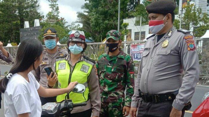 Tekan Kasus Covid-19, TNI-Polri Terus Laksanakan Patroli Protokol Kesehatan