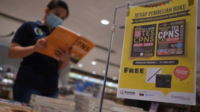 Jelang Tes CPNS Toko Buku Gramedia Siapkan Buku Latihan Agar Lolos Passing Grade