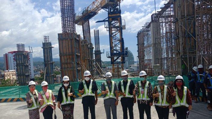 RSUD Provinsi Sulut Topping Off,  Dibangun 11 Lantai Lengkap Helipad
