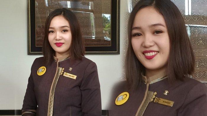 Widia Selfie Tumewan - Resepsionis Yang Utamakan Sikap dan Pelayanan Dari Hati