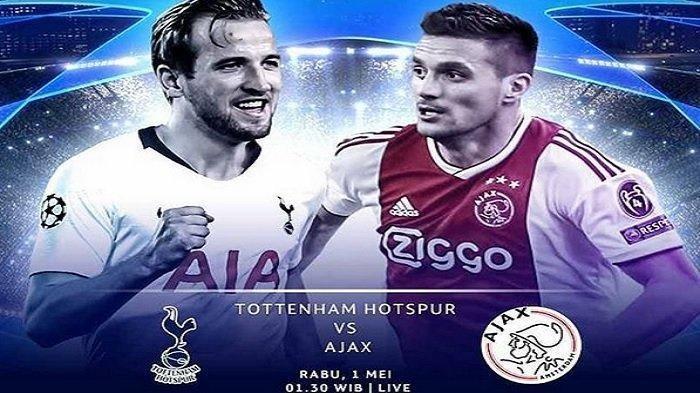 Hasil Akhir Semifinal Liga Champions, Tottenham vs Ajax, Tima Muda Berbahaya Kandaskan Lilywhites
