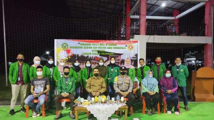 Mahasiswa IAIN Gorontalo dan Karang Taruna Tolondadu Gelar Tournament Volly Ball dan Sepak Takraw