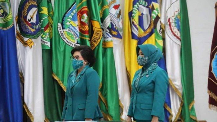 Rita Dondokambey-Tamuntuan Dilantik Jadi Ketua TP PKK Sulut 2021-2024