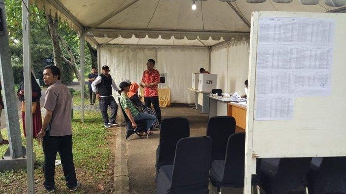 Warga Tak Peduli, Pemilihan Ulang di Tangerang Sepi Peminat, Dari 269 Pemilih Hanya 18 yang Coblos