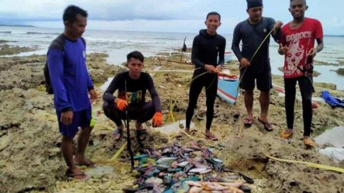 Cerita Pemanah Ikan Tradisional dari Talaud
