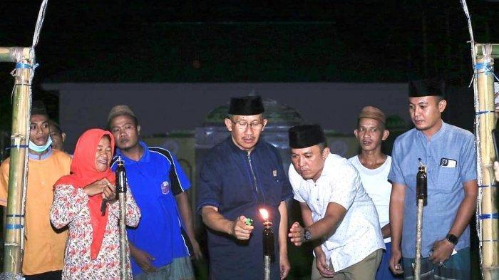 Tradisi Unik Monunjulo Lambu Oleh Masyarakat Bolmut, Pasang Lilin 3 Hari Jelang Hari Raya Idul Fitri